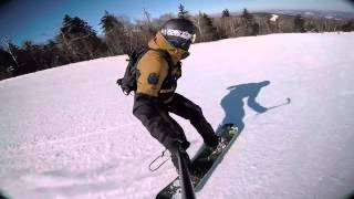 preview picture of video 'Vermont 2015 Snowboard Trip'