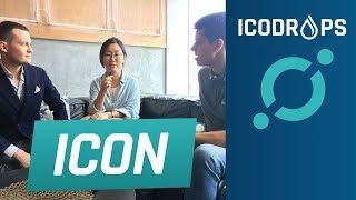 Интервью с ICON ICX @ Korea Blockchain Week