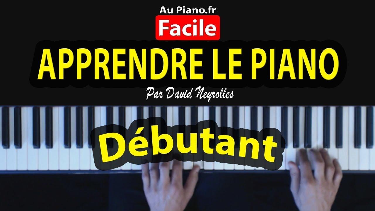 5 leçons pour apprendre le piano gratuitement seul en ligne.