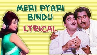 Meri Pyari Bindu Full Song With Lyrics | Padosan | Kishore