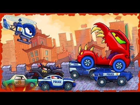 Car Eats Car 3 Mobile Game Walkthrough Level 10-15 Predatory Machines 2