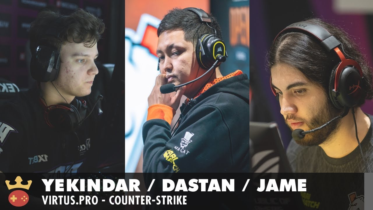 Video of Interview with YEKINDAR, Jame, and dastan from Virtus.Pro at IEM Cologne 2021