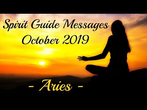 Aries ~ The start of something new! ~ October Spirit Guide Messages