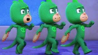 Heroes en Pijamas Capitulos Completos Gecko en cámara lenta   1 HORA   Dibujos Animados
