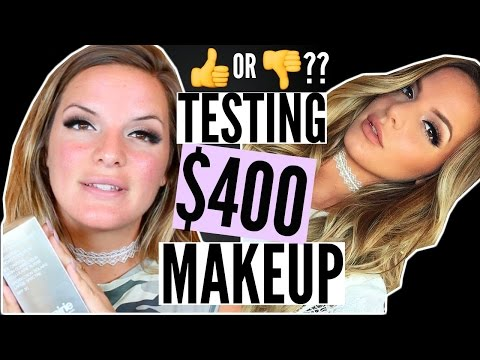$400 Makeup Products TESTED! Worth The Money?? | Casey Holmes