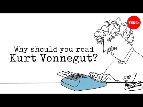 Why should you read Kurt Vonnegut? –  Mia Nacamulli