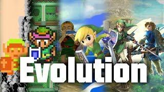 The Evolution Of Zelda 1986   2018