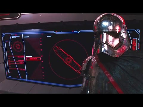 Star Wars: The Force Awakens - All Captain Phasma Scenes