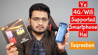 The Keypad Smartphone With KaiOS and Mediatek | Jazz Digit4G Unboxing!
