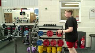 13 year old Harrison is tackling his weight after being labelled overweight | ITV News