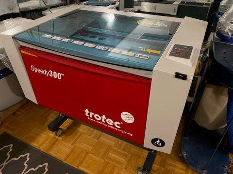 Speedy 300 Laser Engraving Machine