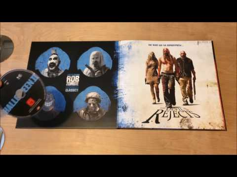 Rob Zombie Horror Collection Blu-Ray Limited Edition