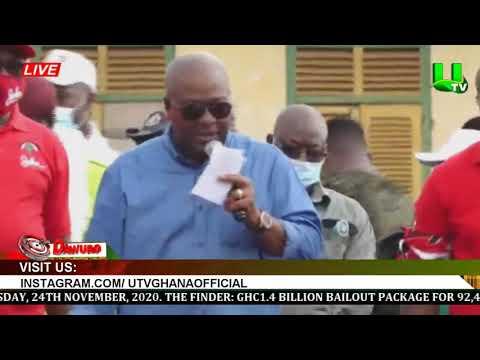 Prez. Akufo-Addo is a dictator under a democracy – Mahama