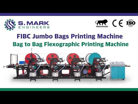 Woven Sack Bag Flexo Printing Presses