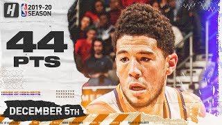 Devin Booker EPIC 44 Pts Full Highlights   Suns vs Pelicans   December 5, 2019