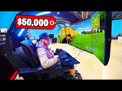 Top 5 MOST EXPENSIVE Fortnite GAMING SETUPS! (видео)