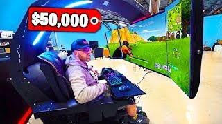 Top 5 MOST EXPENSIVE Fortnite GAMING SETUPS!