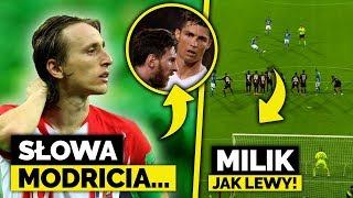 Luka Modrić ATAKUJE Ronaldo i Messiego! Milik jak Lewandowski... PIĘKNY RZUT WOLNY!