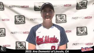 2022 Ava Domenici Pitcher Softball Skills Video - Yardsharks