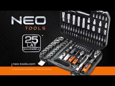 Galvučių rinkinys 32vnt. 1/2 Neo (08-662) kaina ir informacija | Mechaniniai įrankiai | pigu.lt