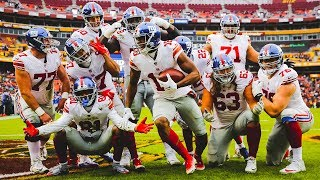 Sights and Sounds: Giants rout the Redskins 40-16
