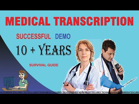 How to do Medical Transcription -Demo - YouTube