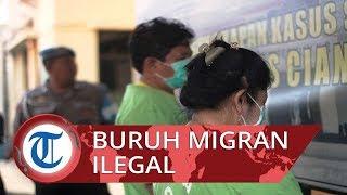 Polisi Gerebek Vila Tempat Pengiriman Buruh Migran Ilegal di Cianjur