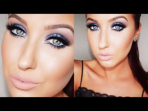 Bold & Blue Makeup Tutorial | Jaclyn Hill