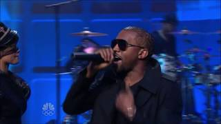 Jay Z & Kanye West ft. Rihanna - Run This Town (Tonight Show with Jay Leno)