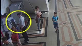 Кража денежных средств из банкомата на Омском жд вокзале