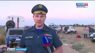 Крупный пожар в Светлоярском районе локализован