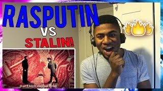 Rasputin vs Stalin. Epic Rap Battles of History Season 2 finale REACTION!!