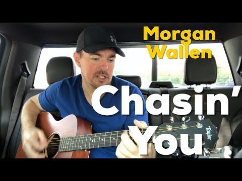 Chasin' You | Morgan Wallen | Beginner Guitar Lesson