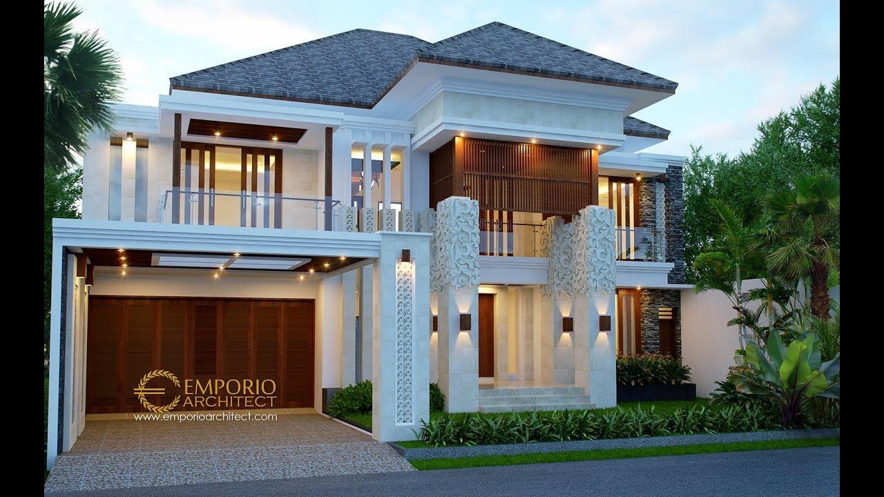 Video 3D Beverly Ave Villa Bali House 2 Floors Design Type A10 - Batam
