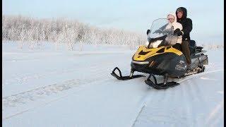 Лучшие снегоходы для охоты и рыбалки