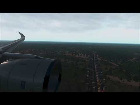 Beijing Approach Qatar Airways A350-900 [X-Plane 11] - смотреть