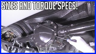 How to Service Rear Differential