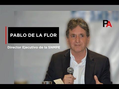 Pablo de la Flor, Director Ejecutivo de la SNMPE, habla sobre Tía María (19.06.2019)