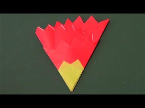 折り 折り紙 カーネーション 折り紙 簡単 : matome.naver.jp