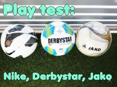 Bester Trainingsball - Nike, Derbystar oder Jako