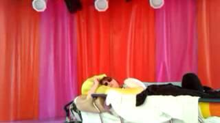 Tanika de Koning (cover Adele) uitgeput in ziekenhuis maar spontaan toch een poging....