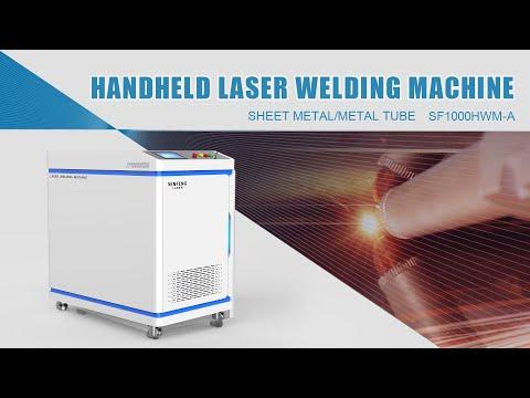 Hand Held Fiber Laser Welding Machine
