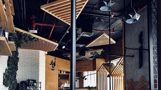 CAFE INTERIOR DESIGN | AUJAN INTERIORS