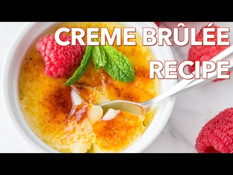 Dessert: Creme Brulee Recipe – Natashas Kitchen