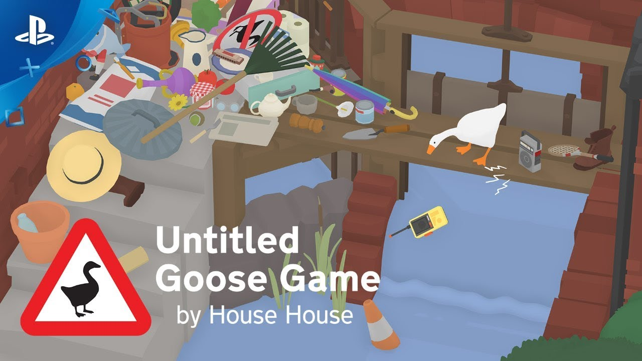 Untitled Goose Game Waddles Onto PS4 Next Week