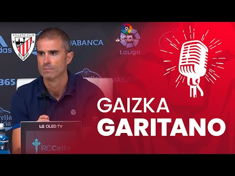 🎙 Gaizka Garitano | RC Celta 1-0 Athletic Club | post-match
