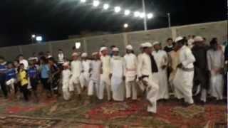 preview picture of video 'حفل زواج الدكتور حاتم آل مساوى العربيي - العرضة الشعبية'