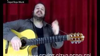 Gitar Dersi 9 (Ritim Akor) Bb - A Akorları Ve Akdeniz Akşamları