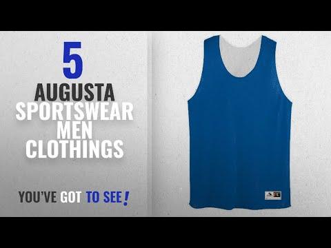 Top 10 Augusta Sportswear Men Clothings [ Winter 2018 ]: Augusta Sportswear Mens Tricot Mesh Tank,