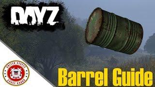 DayZ Standalone 0.59 | Barrel Guide (Storage, Crafting)